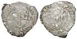 Potosi, Bolivia, cob 2 reales, 1676E.