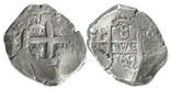 Potosi, Bolivia, cob 8 reales, 1769(V-Y).