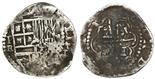 Potosi, Bolivia, cob 2 reales, Philip II, assayer RL.