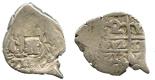Potosi, Bolivia, cob 2 reales, 1713Y.