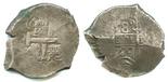 Potosi, Bolivia, cob 8 reales, 1720(Y).