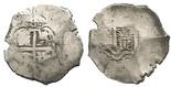 Potosi, Bolivia, cob 8 reales, 1718Y.