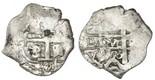 Potos�, Bolivia, cob 1 real, 1726Y, (Louis I), rare.
