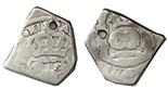 Guatemala, cob 4 reales, 173(?)J.