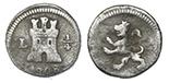 Lima, Peru, 1/4 real, 1810.
