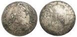 Guatemala, bust 8 reales, Charles III, 1777P.