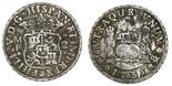 Mexico City, Mexico, pillar 2 reales, Philip V, 1735MF.