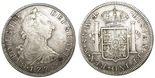Mexico City, Mexico, bust 8 reales, Charles III, 1772FM, initials facing rim.