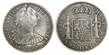 Mexico City, Mexico, bust 8 reales, Charles III, 1778FF.