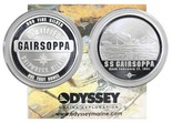 USA, 1-ounce 0.999 fine silver medal struck using silver recovered from the SS Gairsoppa (1941) wreck, with generic Odyssey Marine certificate.