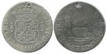 Lima, Peru, pillar 2 reales, Ferdinand VI, 1760JM.