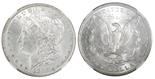 USA (New Orleans mint), $1 Morgan, 1883-O, encapsulated NGC MS 63.