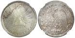 Zacatecas, Mexico, 1 peso, 1903FZ, encapsulated NGC MS 62.