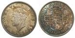 South Rhodesia, half crown, George VI, 1938.