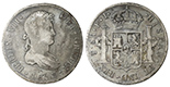 Potosi, Bolivia, bust 8 reales, Ferdinand VII, 1813PJ.