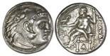 Kingdom of Macedon, AR drachm, Alexander III (the Great), ca. 336-323 BC, Sardes mint.