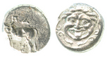 Mysia, Parion, AR hemidrachm, 4th century BC.