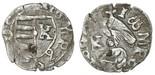 "Wallachia (Romania), silver ducat, Mircea the Old (1386-1418), ""Dracula coin,"" shield type."