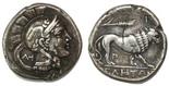Lucania, Velia, AR nomos or stater or didrachm, ca. 300-280 BC.