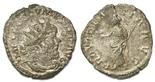 Roman Empire, AR antoninianus, Postumus, 259-268 AD.