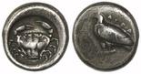 Sicily, Akragas, AR nomos, 490-472 BC.