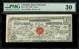 Guatemala, Banco de Occidente, 5 pesos, 2 June 1919, serial 3117752, P-S176b.