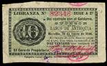 Medellin, Colombia, Banco de Antioquia, 10 centavos, 19-1-1900, series A 2a., serial 82348, ex-Eldorado.