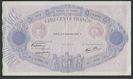 France, Banque de France, 500 francs, dated 2 November 1939, series A. 3721, serial 93000076, P-88c.