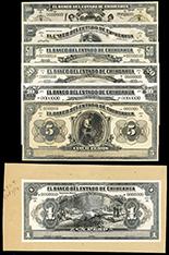 Mexico, El Banco Oriental de Mexico (Puebla), 50 pesos, 14-3-1914, series QQ. 8 CCCXVI, serial 59663.
